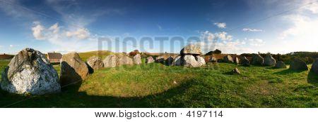 Grave Burial Site Panoramic