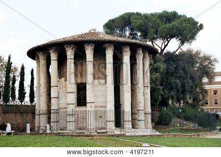 Vesta Temple. Rome