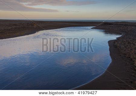 Sandy Beach - Vik, Iceland.