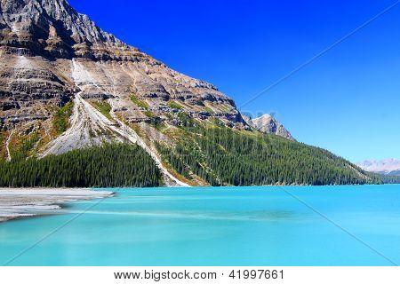 Peyto Lake In Banff Park