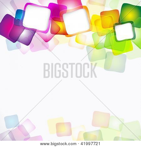 abstract cheerful background.