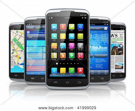 Smartphones e aplicativos