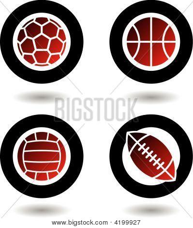 Sports Balls Icons