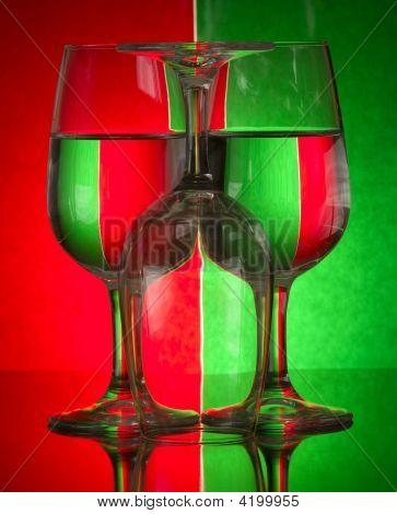 Colourful Wine Glasses