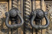 Ornated door hardware