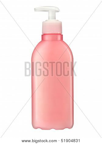 Liquid soap bottle with pump