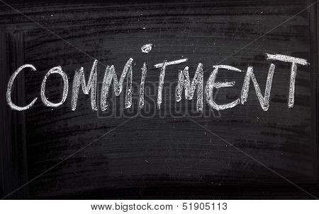 The word Commitment