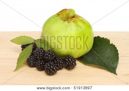 Blackberry And Apple