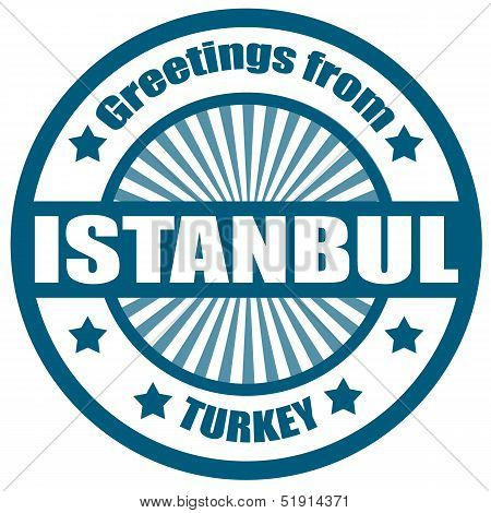 Greetings From Istambul-label
