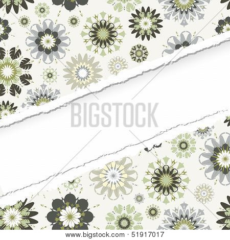 Ragged Seamless Vector Pattern.  The .eps Includes Seamless Swatch,  So You Can Make Easy Seamless P