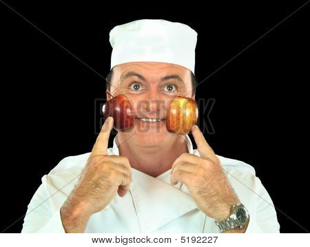 Rosy Cheeked Apple Chef