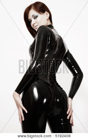 Sexy Girl In Latex
