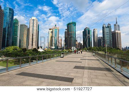 Modern Shanghai Cityscape