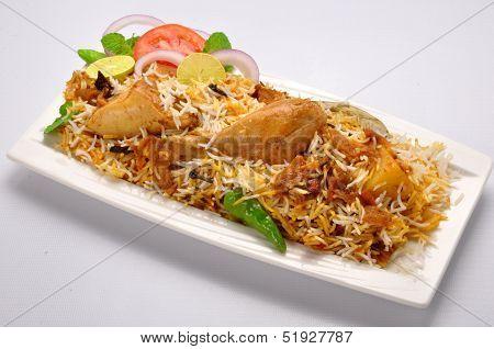 Chicken Biryani-P