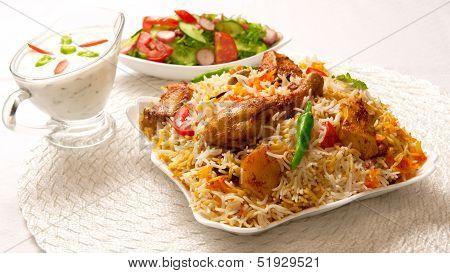 Chicken Biryani-L