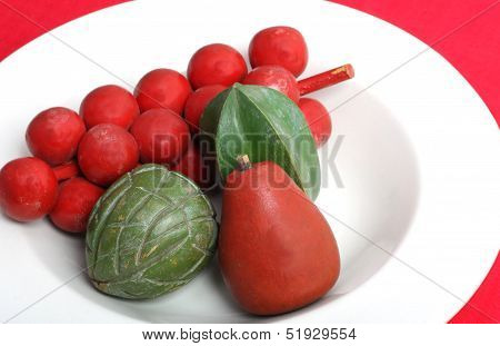 Red and Green Still Life
