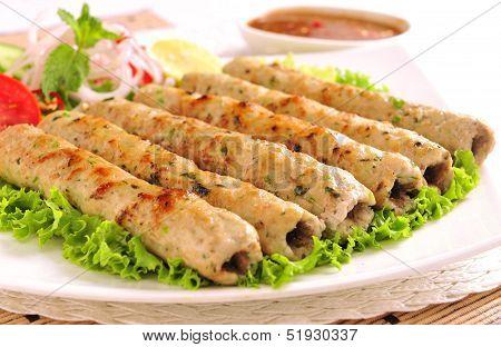 Chicken Seekh Kabab-A