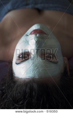 Menschen - Gesichtsbehandlung