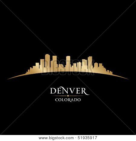 Denver Colorado City Skyline