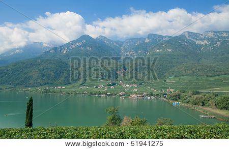 Lake Caldaro,South Tyrol,Italy