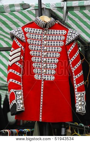 Red Coat Uniform