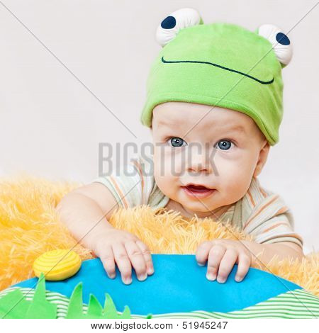 Cute Baby Playing