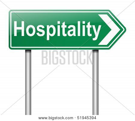 Hospitality Concept.