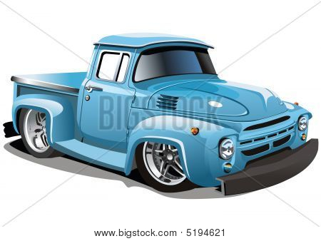 Vector Cartoon Truck