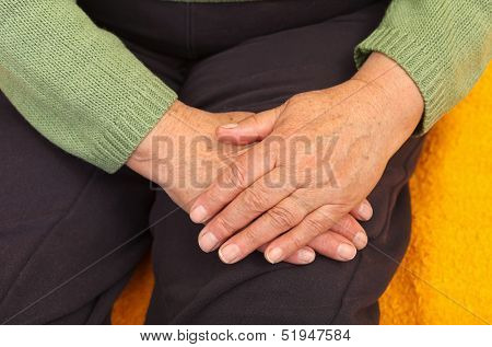 Old Woman's Hand