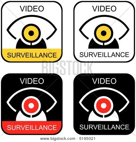 "Signs ""video Surveillance""."