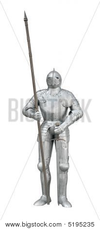 Knight With Spear And Sword