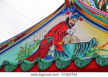 Paintings Of Chinese Deities.
