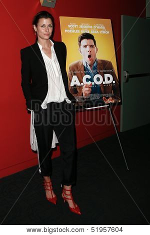 NEW YORK-OCT 3: Actress Bridget Moynahan attends the premiere of 'A.C.O.D.' at the Landmark Sunshine Theater on October 3, 2013 in New York City.