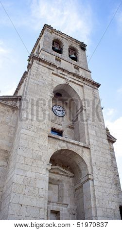 Bell Tower Of Hontanas Church, Spain