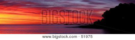 Dawn bei Lorne - Panorama
