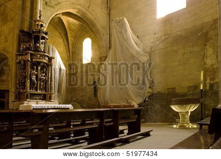 Interior Of Granon Church