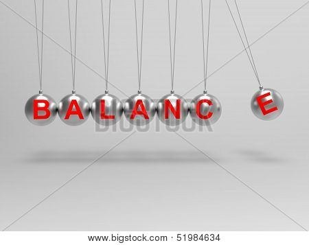 Balance Spheres Shows Balanced Life