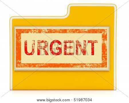 Urgent File Shows Speedy Rush Priority Data