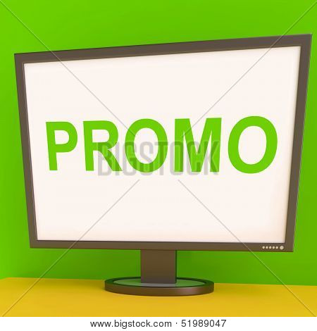 Promo Screen Shows Promotional Discounts And Rebate