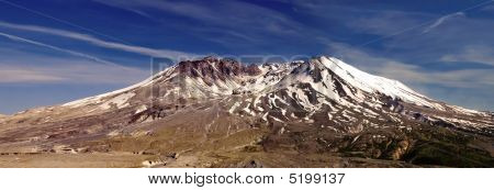 Mount St. Helens Volcano Panorama