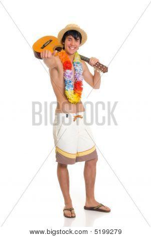 Teen Boy, Vacation