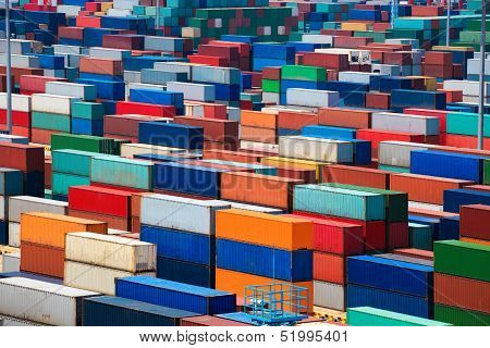 Stacked Container