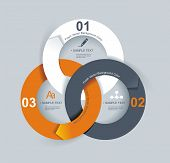 foto of economics  - Business Abstract Circle icon - JPG