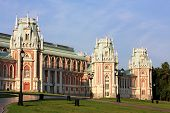 Towers Of The Grand Palace Of Tsaritsyno