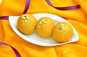 picture of laddu  - Delicious - JPG