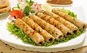 stock photo of kababs  - A fresh - JPG