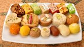 pic of mithai  - A group of delicious - JPG