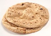 stock photo of pakistani  - A traditional and hot Pakistani and Indian bread - JPG