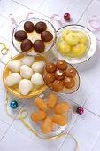picture of mithai  - A group of fresh - JPG