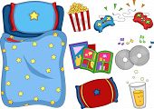 foto of slumber party  - Illustration of Ready to Print Sleepover - JPG